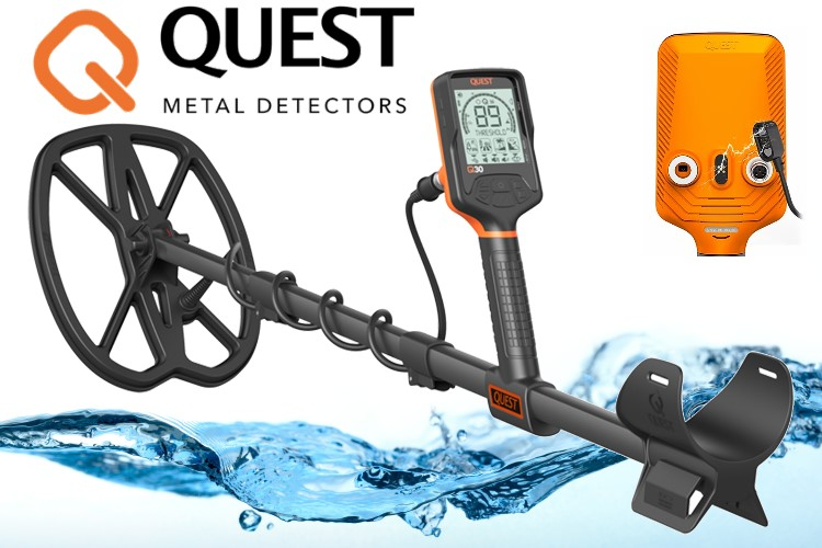QUEST Q30 Metalldetektor