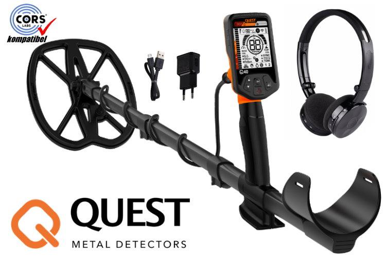 Deteknix QUEST Q40 Metalldetektor Raptor